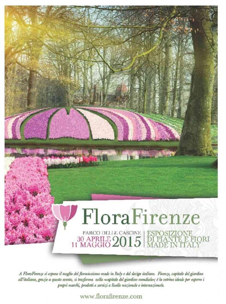 30 Aprile – 11 Maggio  Flora Firenze